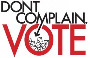Vote dont complain